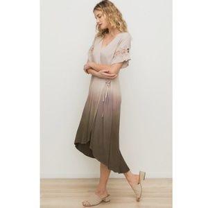 NWT Mystree | Ombre Wrap Midi Dress
